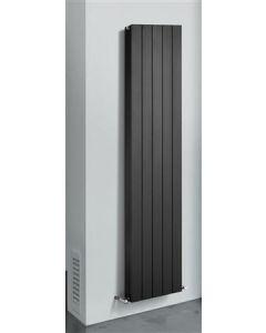thermrad alustyle zwart aluminium verticale radiator