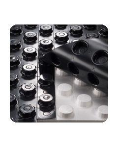 Noppenplaat met 35mm isolatie voor vloerverwarming