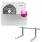 Qlima SC5225 split unit airco (snelkoppeling) incl wandbeugel